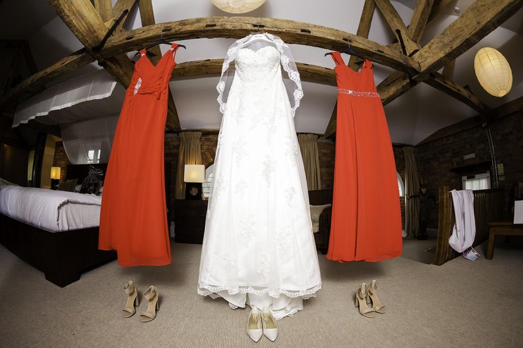 English wedding dress, Wasing Park Wedding
