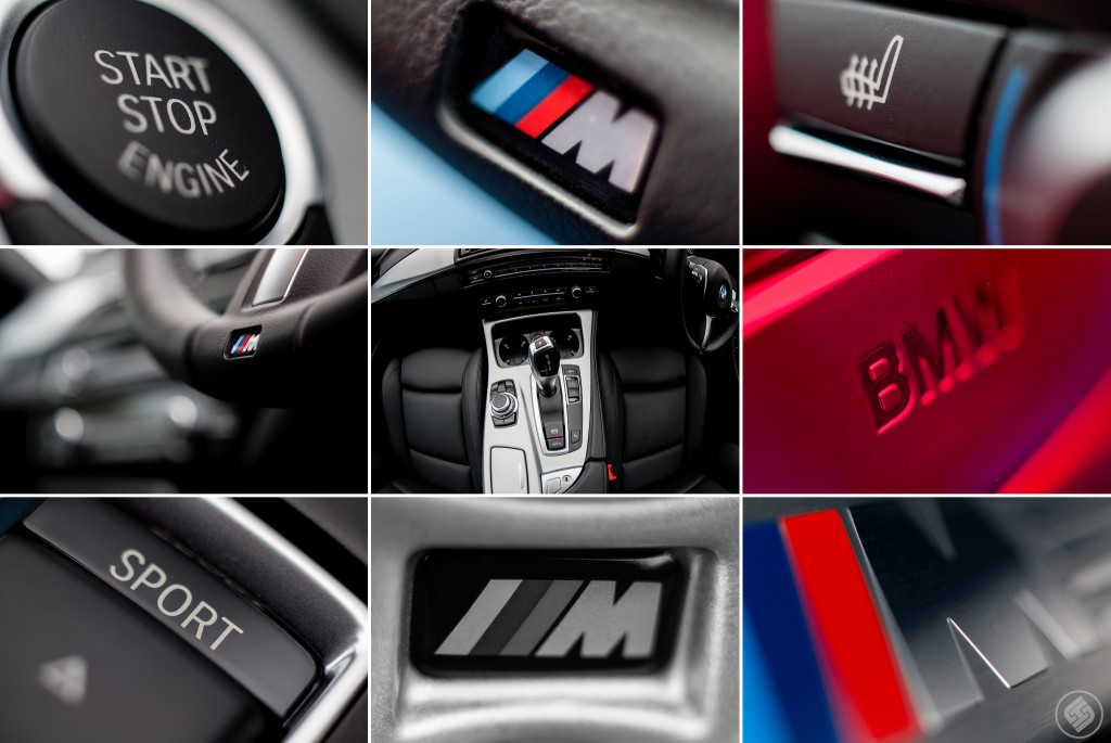 bmw car interior photography